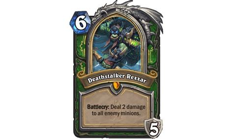 Hearthstone Beginner Decks Frozen Throne by Hearthstone Gets All Cold And Deadly This August