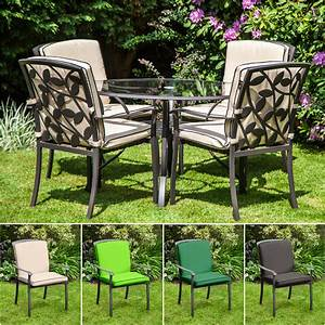 replacement cushion for homebase lucca metal garden patio With garden furniture covers at homebase