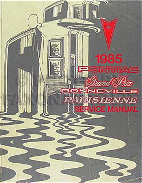 car service manuals pdf 1985 pontiac parisienne instrument cluster search