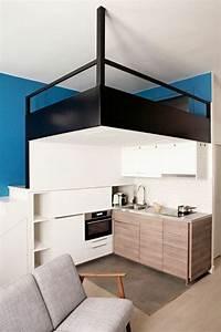 Aménagement Petite Chambre : 1001 id es comment am nager une petite chambre mini espaces ~ Melissatoandfro.com Idées de Décoration