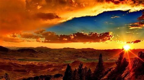 Amazing Sunset Desktop Background 602428 : Wallpapers13.com