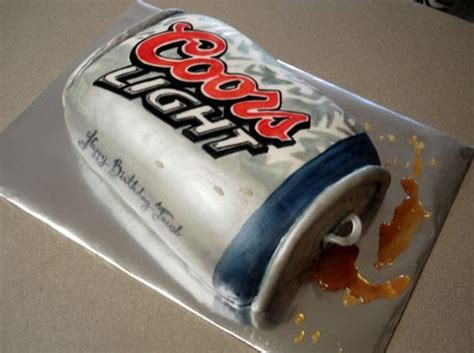 how to make coors light taste image detail for coors light beer can birthday cake jpg