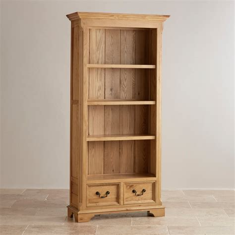 Oak Bookcase by Edinburgh Bookcase In Solid Oak Oak