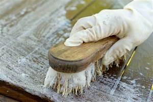 Comment Nettoyer De L Aluminium Brossé : nettoyer un meuble en bois brut tout pratique ~ Farleysfitness.com Idées de Décoration