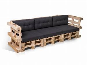 Sofa 2 3 Sitzer : paletti 3 sitzer sofa aus paletten natur ~ Bigdaddyawards.com Haus und Dekorationen