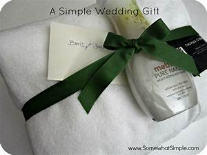 A real simple wedding gift for What to get for a wedding gift