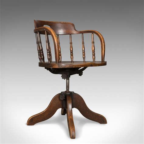 antique oak chairs antique desk chair captain s armchair oak 1293