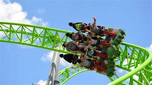"""Ride Entertainment: """"The Monster"""" Infinity Roller Coaster ..."""