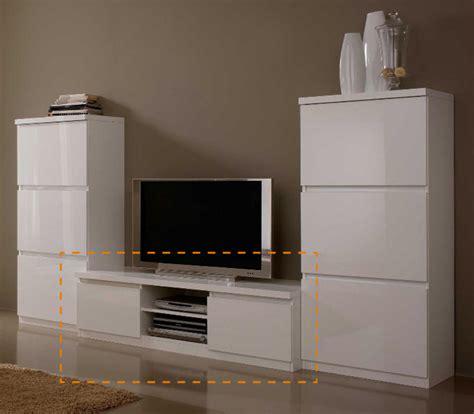 meuble chambre blanc laqué meuble tv plasma roma laqué blanc
