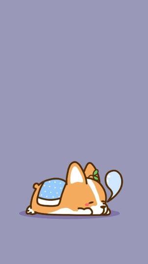 Cute Cartoon Wallpaper Backgrounds 卡通柯基图片