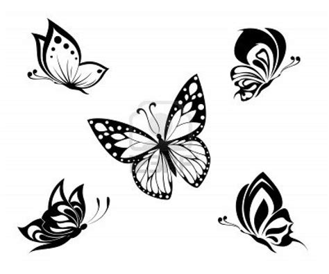 black butterfly tattoos design tattooshuntcom