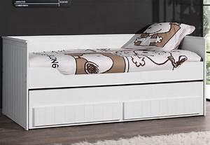 Kojenbett Weiß 90x200 : vipack kojenbett robin l sofabett l 90 x 200 l wei real ~ Whattoseeinmadrid.com Haus und Dekorationen