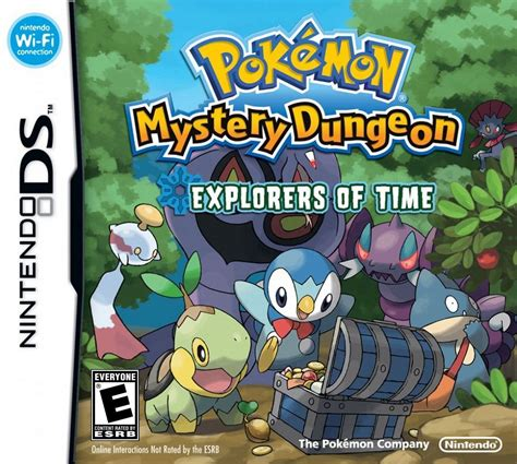 Pokemon Mystery Dungeon Explorers Of Time Ds Review