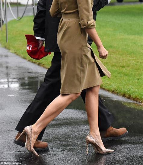 Melania Trump High Heels