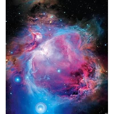 Star Cluster Near Orion Nebula Revealed in Telescope Views