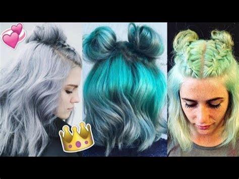 Peinados Tumblr para pelo corto/MoDa grîl YouTube