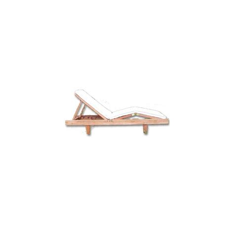 chaise longue bois exotique chaise longue en bois exotique massif plantes et jardins