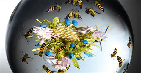 beauty  nature stunning artistic glass paperweights  paul  stankard colossal