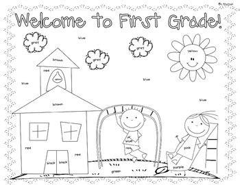 day coloring worksheet st grade  christine