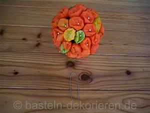 Wandschablone Selber Machen : herbstdekoration mit lampionblumen basteln und dekorieren ~ Lizthompson.info Haus und Dekorationen
