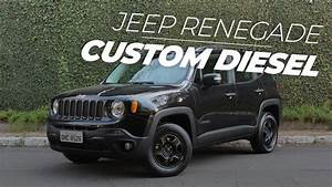Jeep Renegade Custom  O Diesel Mais Barato Do Brasil