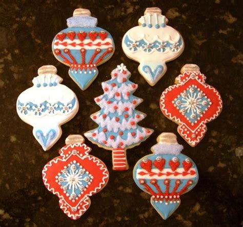 christmas ornament cookies i love christmas decor can you tell pinterest