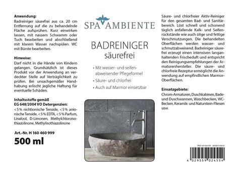 Naturstein Waschbecken Pflege by Pflege Spray Naturstein Waschbecken 500 Ml Spr 252 Hflasche