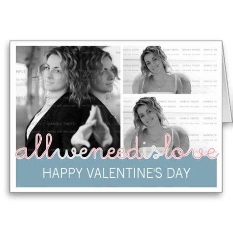 happy valentines photo greeting card  images zazzle
