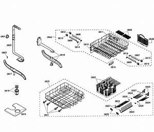 Baskets Diagram  U0026 Parts List For Model She55c05uc50 Bosch