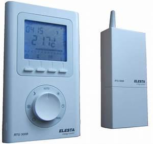 Thermostat Chaudiere Sans Fil : thermostat elesta radio sans fil r versible froid chaud ~ Dailycaller-alerts.com Idées de Décoration