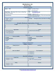 two page business plan template - sample small business plan one page plan