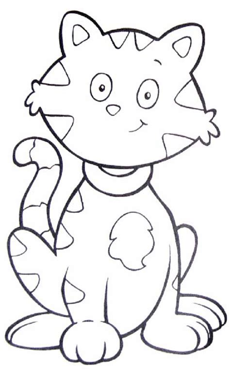 tabby cat coloring sheets coloring pages