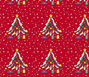 Modern Christmas Tree fabric flamincatdesigns Spoonflower
