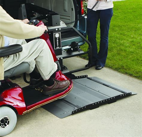 joey vehicle lift by bruno scooter power wheelchair lifts