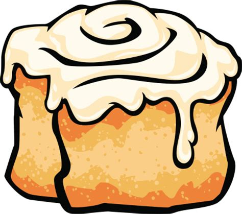 cartoon rolls cinnamon rolls clipart best