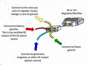6 Volt Regulator Rectifier Converts 12v Clone Engines To 6