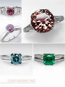 colored gemstone engagement rings from eragem green With wedding rings with gemstones