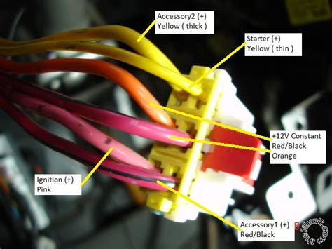 ignition harness wires