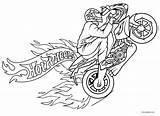 Coloring Motorcycle Motorcycles Harley Davidson Motos Printable Transports Drawing Coloriage Imprimer Cool2bkids Kleurplaat Dessins Enfants Getdrawingscom Getdrawings sketch template
