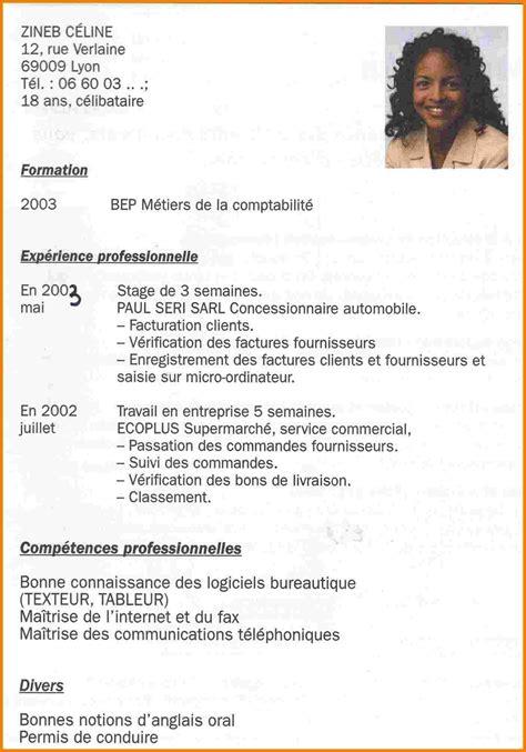 Exemple Du Cv by Modele Cv Avec Permis Lafermesalicole