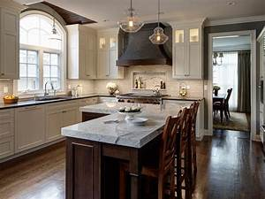 25 kitchen island ideas home dreamy With l shaped kitchen island designs with seating