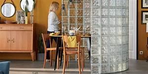 Cloison Brique De Verre : cloison brique de verre comment l 39 adopter marie claire ~ Dailycaller-alerts.com Idées de Décoration