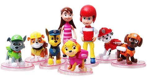Mainan Paw Patrol Figure jual mainan figurine paw patrol isi 8 plus orang di
