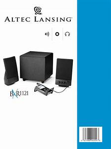 Page 2 Of Altec Lansing Speaker Bxr1121 User Guide