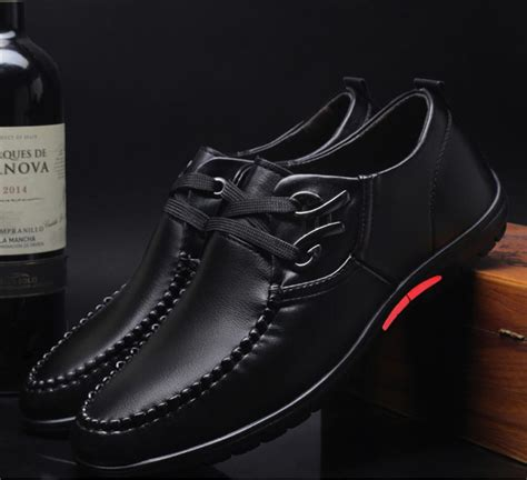 New Men Shoes Business Inside Heighten Britle Style