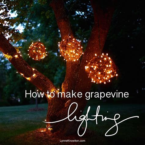 diy grapevine lighting balls what a bright idea