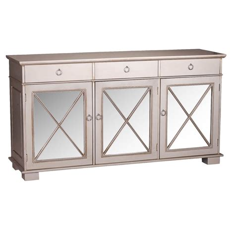 Silver Sideboard by Antique Silver Dominique Mirrored Sideboard Furniture La