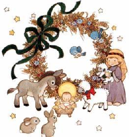 christmas animal clipart free   Religious Christmas ...