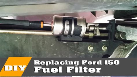2006 Ford Fuel Filter Removal by How To Change Ford F150 Fuel Filter On 2004 To 08