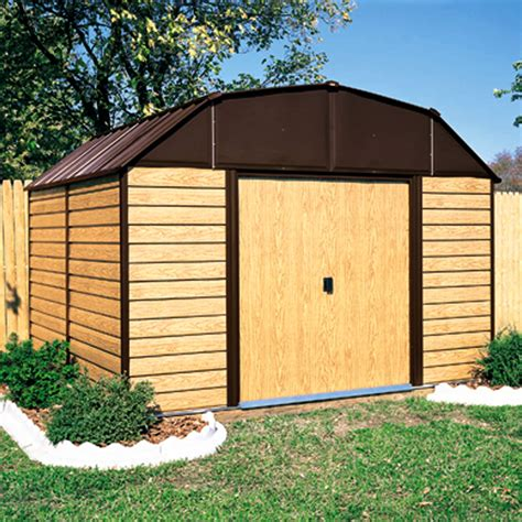 arrow woodhaven 10 x14 shed sears